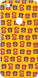 Stylizedd Google Pixel XL Slim Snap Basic Case Cover Matte Finish - Red Ringing Telephone