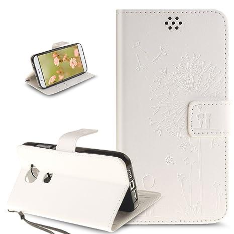 Huawei G8 móvil, Huawei G8 X Móvil, ikasus® Funda Carcasa PU ...
