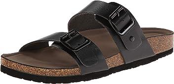 Madden Girl Womens Brando Slide-On Sandal