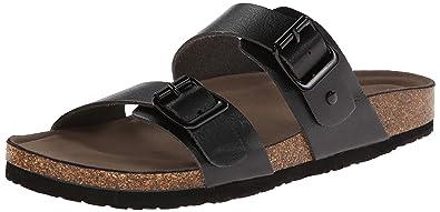 eec5b102cf9a Madden Girl Women s Brando Flat Sandal Taupe  Amazon.co.uk  Shoes   Bags