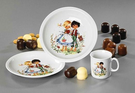 Set de vajilla infantil Hansel & Gretel 3 piezas. Thüringer ...