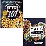 Thug Kitchen 101 Fast as F*ck & Thug Kitchen Eat Like You Give a F**k 2 Books Collection Set