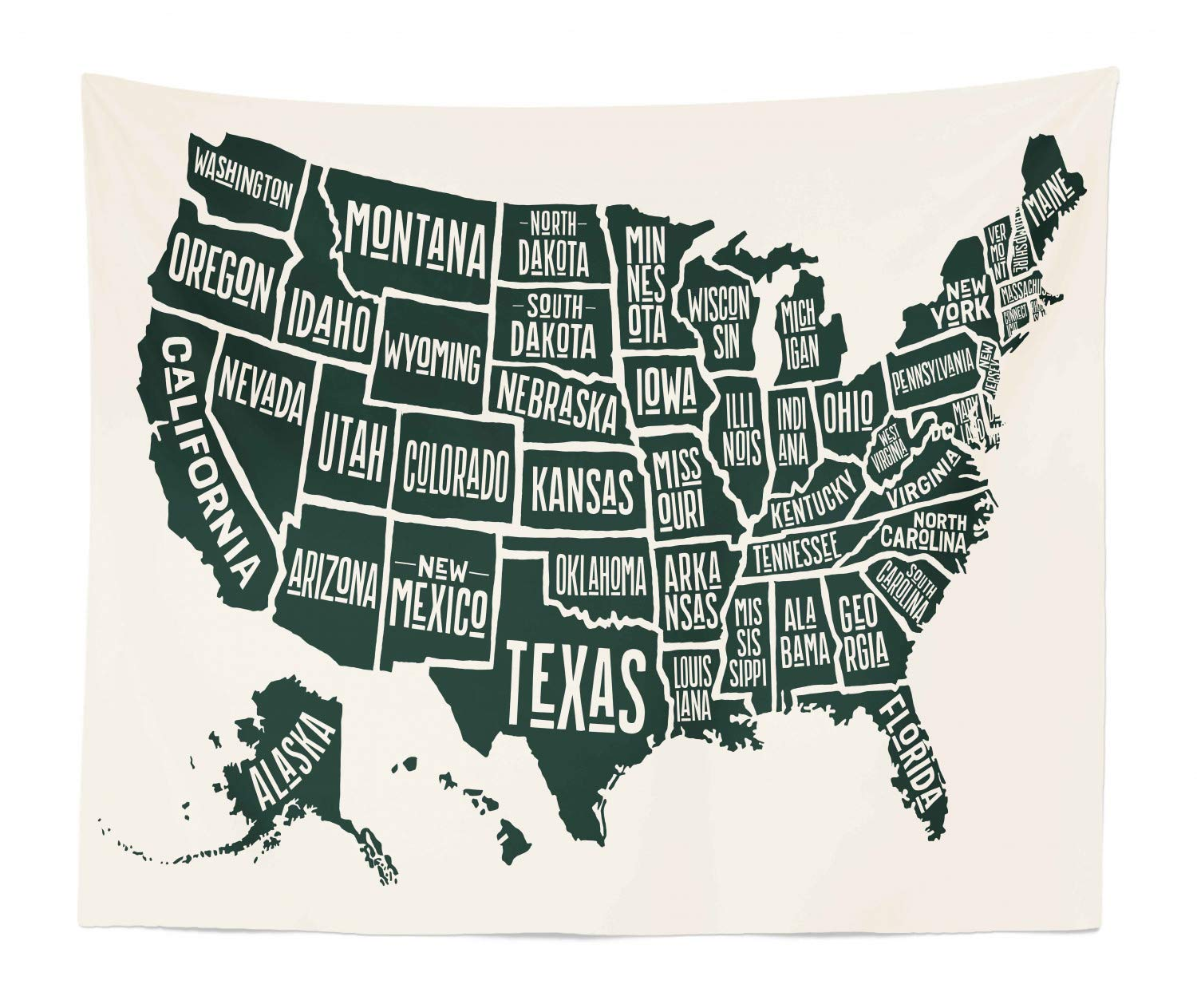 Lunarable USA Tapestry King Size, Black White Style United States America on map canada, map mexico, land bridge from asia to north america, new york, map italy, map new zealand, map china, map russia, north america, 1900 map of america, map of north america, map taiwan, united kingdom, map georgia, map of west indies caribbean islands, map australia, map germany, map bermuda, new york city, continents of america, usa map of america, map iraq, map panama, map costa rica,