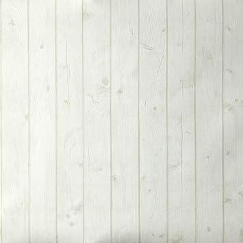 Tapete Holzoptik Weiß Schmutz Täfelung Leicht Angerauht. Oh Die Die 66301001