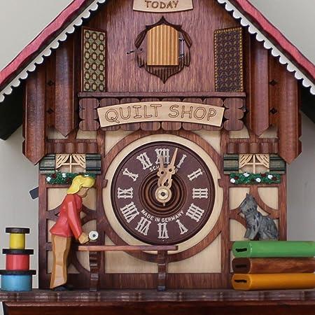 Colcha tienda reloj de cuco con un día movimiento: Lo de dibujos animados.: Amazon.es: Hogar