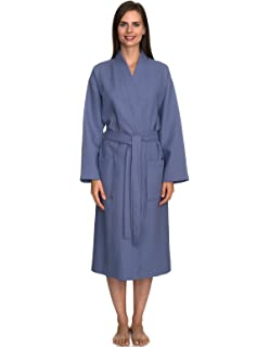 TowelSelections Turkish Cotton Waffle Bathrobe Kimono Waffle Robe Made in  Turkey 53566dbab