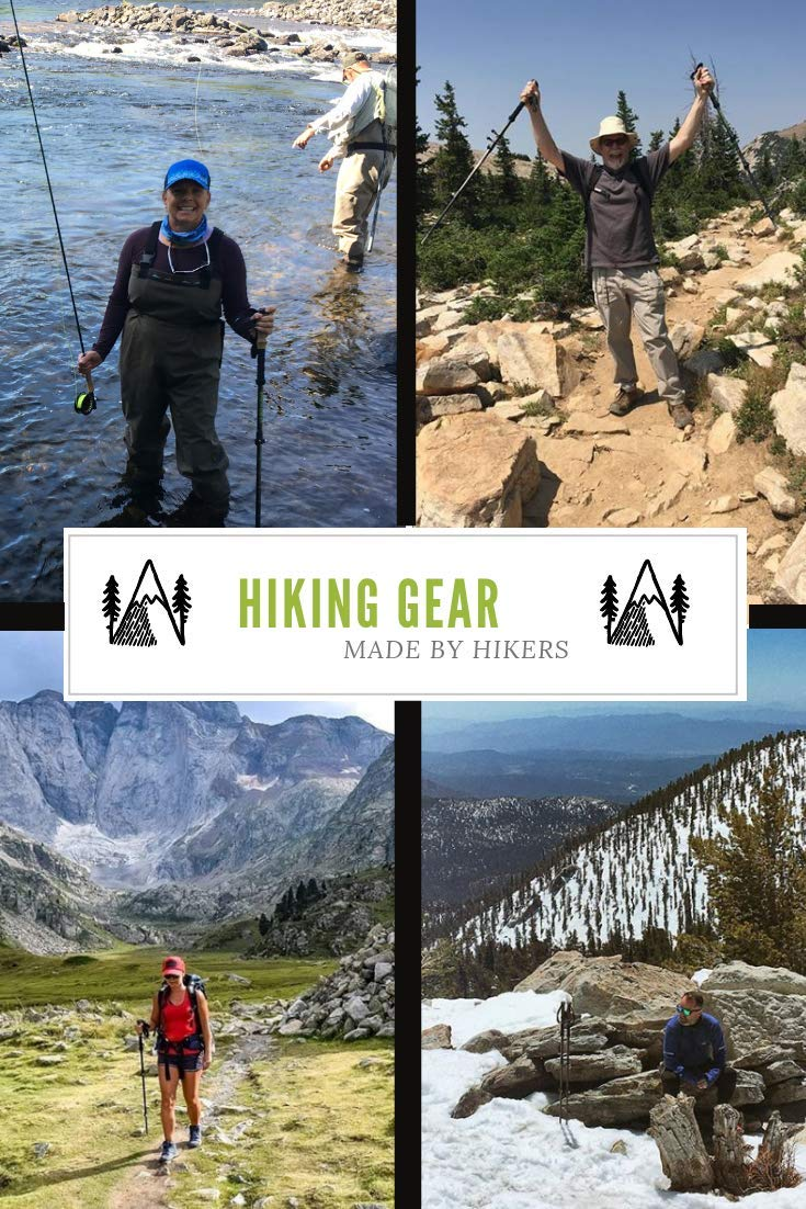 Collapsible Hiker Hunger New Updated Version 100/% Carbon Fiber Trekking Pole 2.0 Ultralight Weight Durable Metal Screw with Flip Lock and Newly Designed Carry Bag with Zip Pocket for Accessories