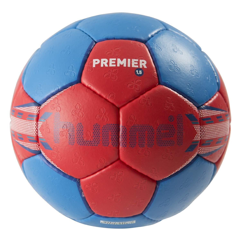 Hummel 1,5 Premier - Pelota de balonmano, color - rojo/azul ...