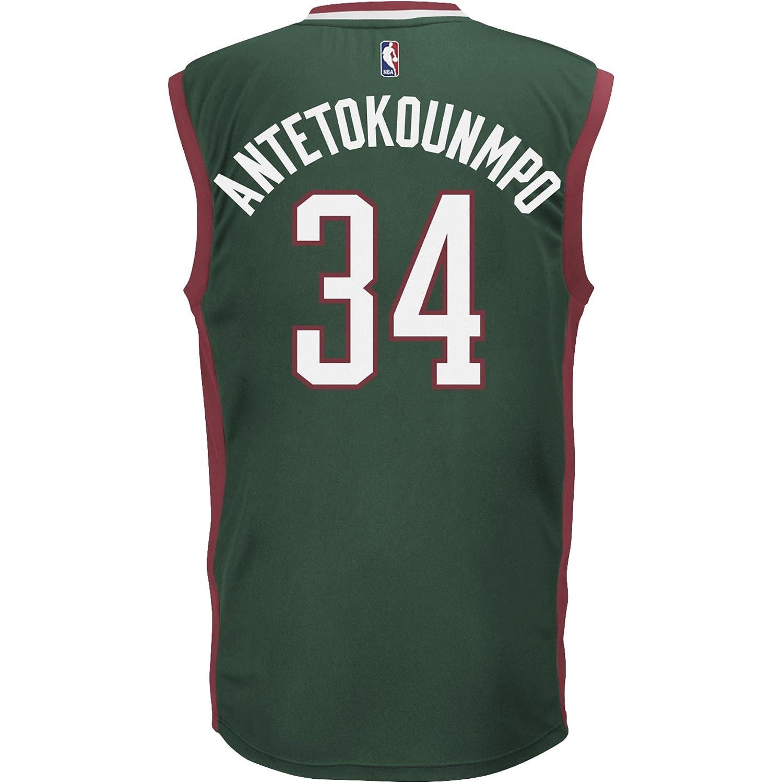 Adidas Camiseta NBA Milwaukee Bucks Giannis Antetokounmpo Verde, Color Verde Oscuro, tamaño XXS: Amazon.es: Deportes y aire libre