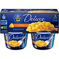 Kraft Deluxe Original Macaroni and Cheese Dinner Cups, 4 ct - 9.56 oz Package