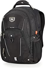 High Sierra Elite Laptop Backpack, 17-inch Student Laptop Backpack