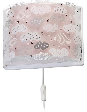Jollein 005-005-65328 Holz Wandleuchte LED Lampe Wolke mint gr/ün 25x40 cm