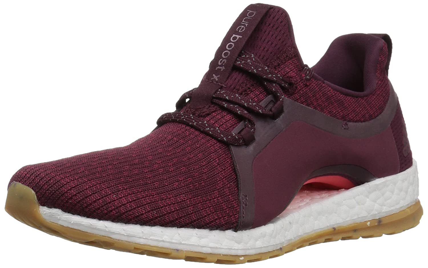 adidas Performance Women's Pureboost X ATR Running Shoe B06XWM3ZKG 7 B(M) US|Red Night/Mystery Ruby/Easy Coral