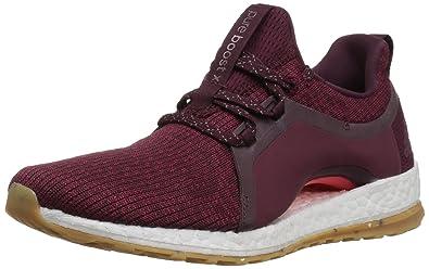 the latest 29277 49a13 adidas Performance Womens Pureboost X ATR Running Shoe, Red NightMystery  RubyEasy