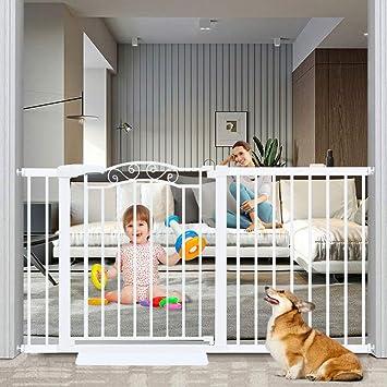 Fairy Baby Fairy Baby Walk Through Baby Gate Auto Close White Child Safety Gates Extension