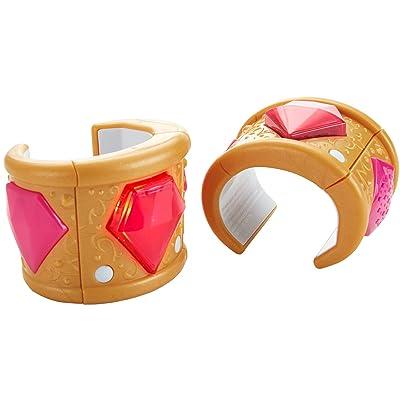 Fisher-Price Nickelodeon Shimmer & Shine, Wish-Granting Bracelets, Shine: Toys & Games [5Bkhe1202803]