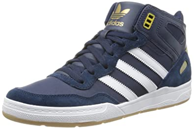sports shoes 02165 ea27c adidas Mens Artillery AS MID Skateboard Shoes Blue Blau (Collegiate  NavyMetallic Gold