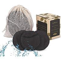 Lyihlou Make-up Pads Wasbare gezichtsreinigingspads herbruikbaar 8,5 cm make-up remover pads met waszak van 100% katoen…