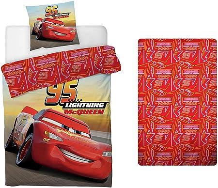 Disney Cars in Cotone Federa Set Copripiumino 140 x 200 cm