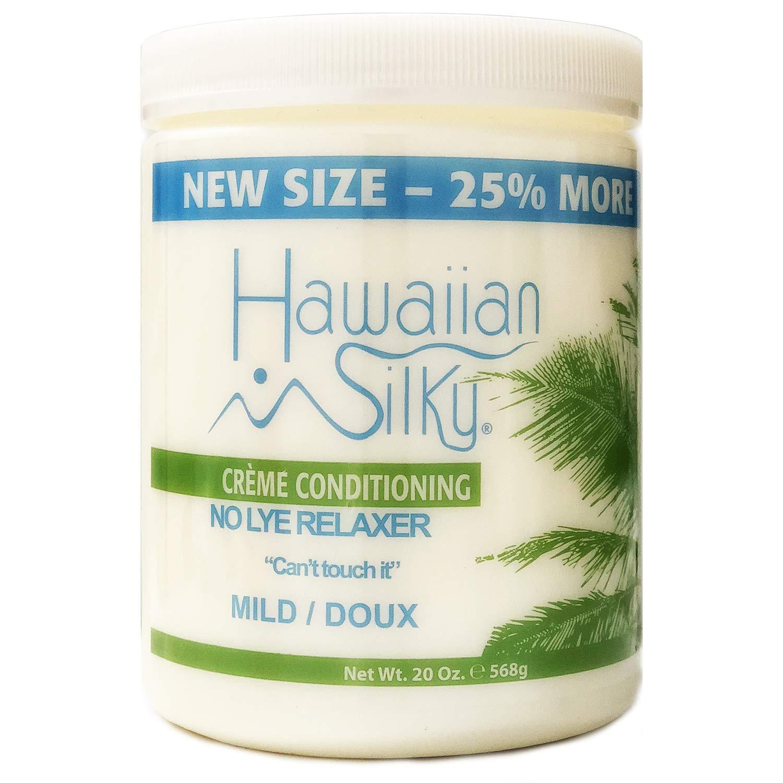 Hawaiian Silky Hawaiian silky no lye mild relaxer 20 ounce, Beige, 20 Ounce