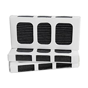 Activated Carbon Refrigerator Air Filter Compatible with Paultra2 Pure Air II 242047805 5303918847 (3 Filter)