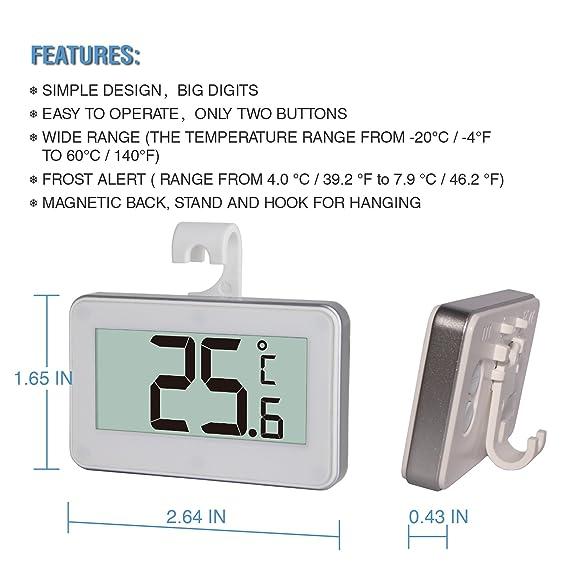 Smartech - Termómetro de carne Digital inalámbrico remoto horno ...