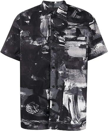 Moshino - Camisa Luxury Fashion para hombre, color negro ...