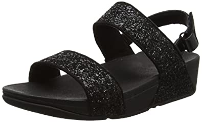 586a08fe956 Fitflop Women s Glitterball Sandal Open-Toe  Amazon.co.uk  Shoes   Bags