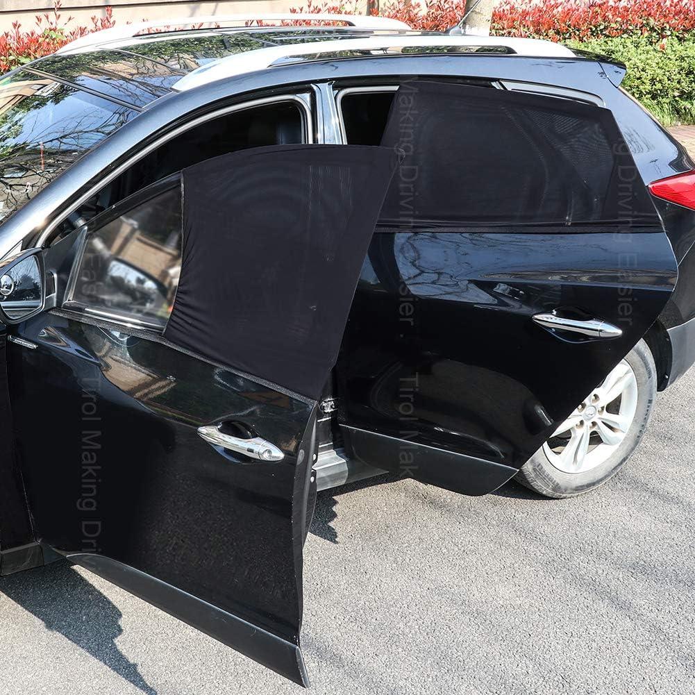 UV-Visierschutz Sichtschutz SmartSpec Universal-Sonnenschutz f/ür Seitenfenster 4-teiliges Set Autovorh/änge Netzabdeckung
