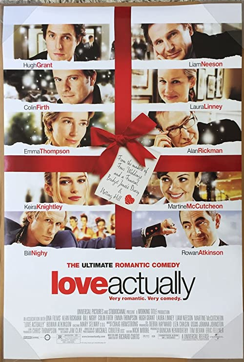 Amazon.com: LOVE ACTUALLY MOVIE POSTER 2 Sided ORIGINAL 27x40 HUGH GRANT  KEIRA KNIGHTLEY: Prints: Posters & Prints