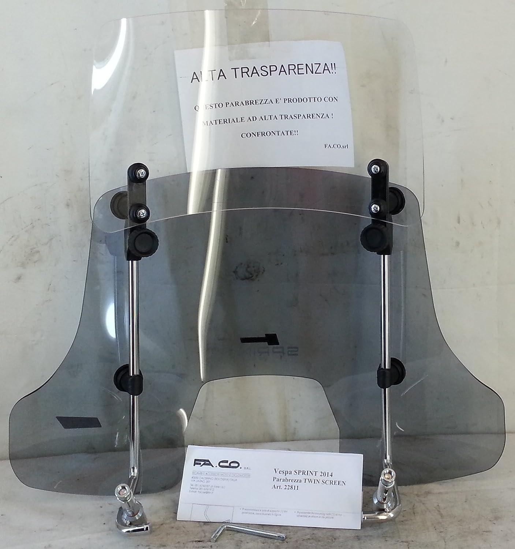 PARABREZZA PIAGGIO VESPA SPRINT 2014 50-125 2//4 T twin-screen scorrevole cod.22811