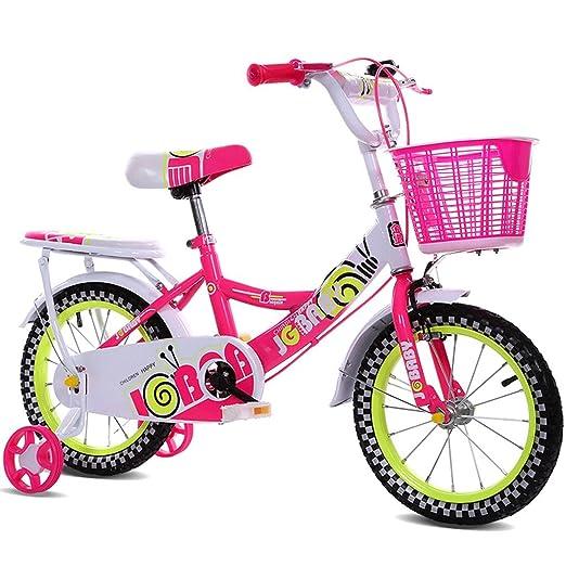 Great St. DGF Bicicleta para Niños Mujeres 12 Pulgadas 14 Pulgadas ...