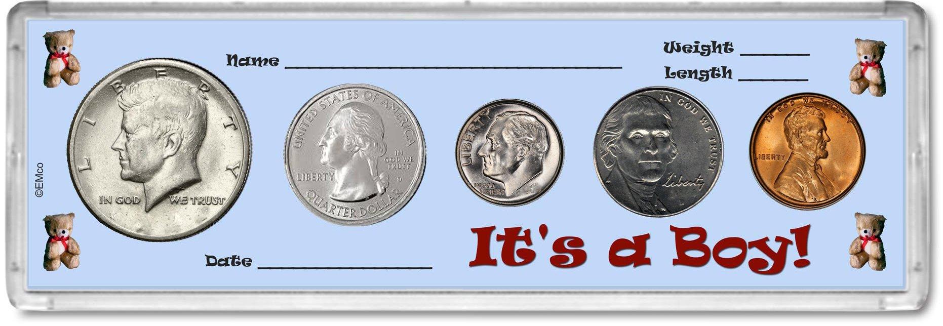 2018 Year Coin Set : Birthday Gift - It's a Boy