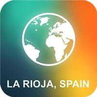La Rioja, Espanha Offline Mapa