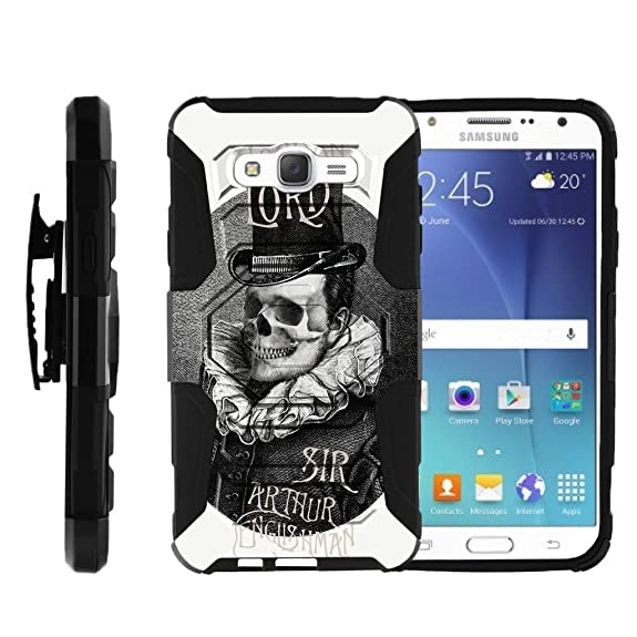 pretty nice 242be 5c5c6 Amazon.com: J7 Hard Case, Samsung J7 Case, Galaxy J700 [Armor ...