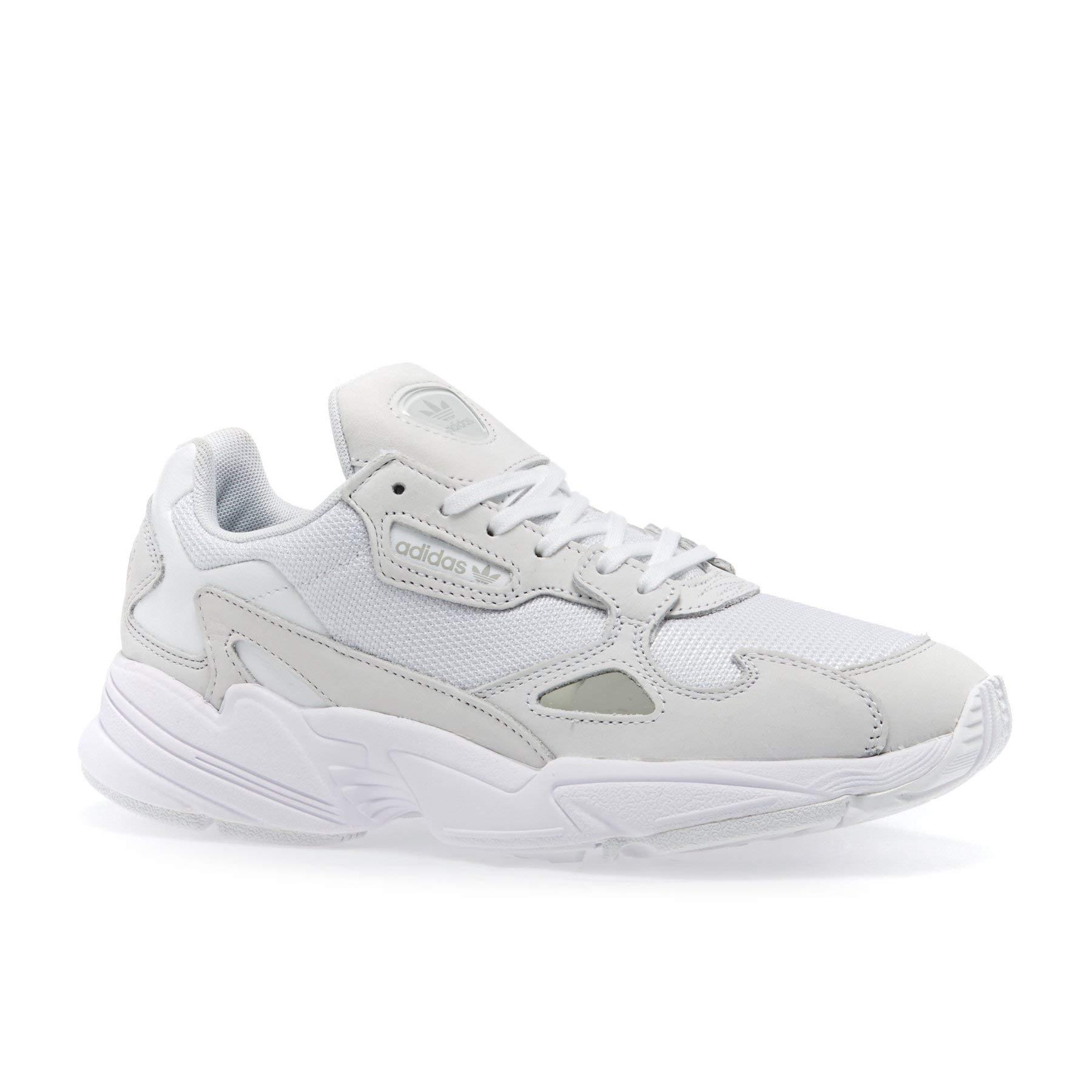 adidas Originals Falcon Womens Shoes 9.5 B(M) US Women / 8.5 D(M) US FTWR White FTWR White Crystal White