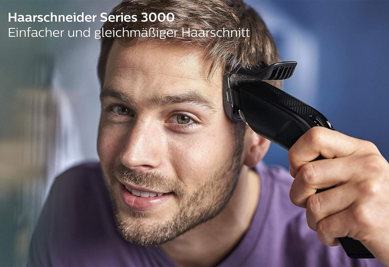 Philips Hc3510 15 Haarschneider Series 3000 Mit 13 Langeneinstellungen Und Kabelbetrieb