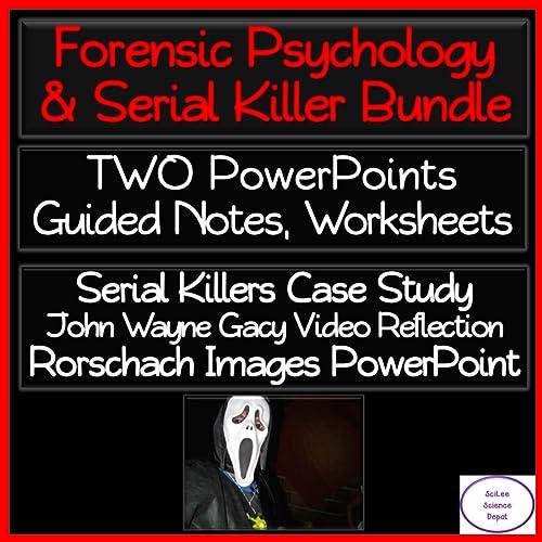 Forensic Psychology Serial Killers Lesson Bundle