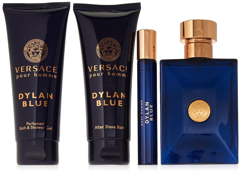 Amazon.com   VERSACE Dylan Blue 4 Piece Set for Men   Beauty 92c931ac63c