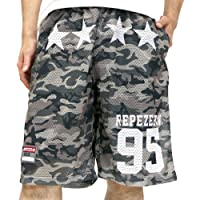 Repezee:N Men's Mesh Shorts Camouflage Print Active Pants