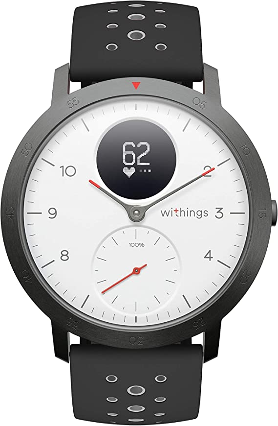Withings Steel HR Sport Hybrid Smartwatch (40mm) - Activity