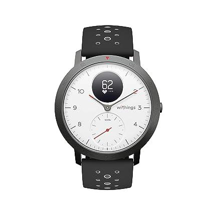 Withings Steel HR Sport Reloj Inteligente Híbrido, Unisex Adulto