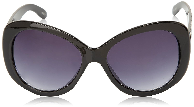Ocean Sunglasses Brasil - lunettes de soleil polarisées - Monture : Noir Laqué - Verres : Fumée (18250.1) MSgbN5ESm