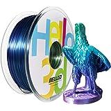 Hello3D - Filamento 3D sedoso, arco iris de seda 3D, multicolor sedoso, multicolor