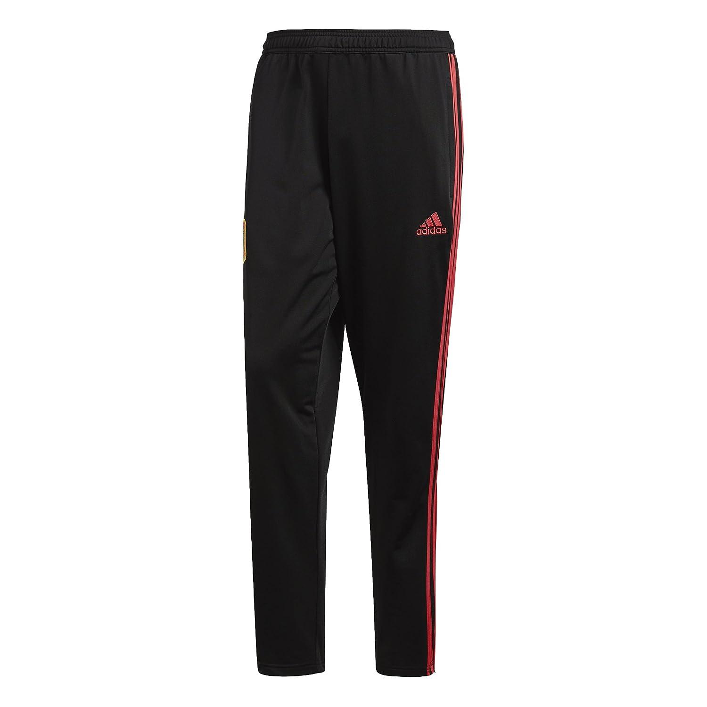 2018-2019 Spain Adidas Presentation Pants (Black) B0777MVTY1 Medium 34