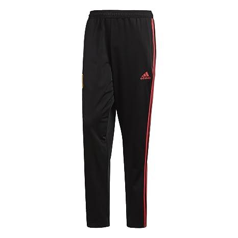 2d36ba383a52 Amazon.com   Spain PES Training Pants 2018   2019 - Black Red ...
