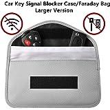 Faraday borsa per chiavi della macchina, Faraday Cage per chiave auto, Faraday box, segnale bloccanti, senza custodia, auto chiave Signal Blocker case, blocco RFID chiave di