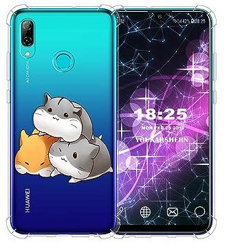 vingarshern Funda para Huawei P Smart 2019 Carcasa Silicona ...
