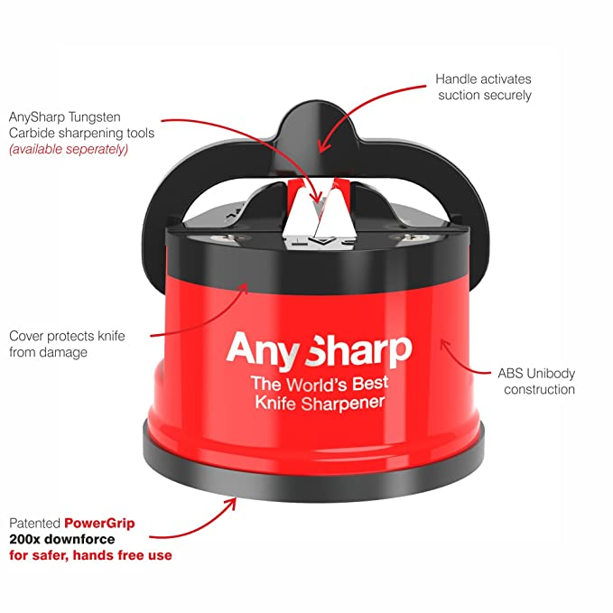 ANYSHARP INANYASKSED12RED, Rosso, ASKSEDRED