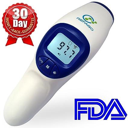 refago bebé termómetro digital por infrarrojos sin contacto termómetro aprobado por la FDA
